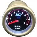 Td Autós sport Műszer fordulatszám mérő sötétített lencse OR-LED7705-2