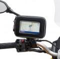 Givi GPS tartó, vízálló tokkal