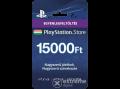 Sony PlayStation Network Card szolgáltatáshoz, kártyás kivitel (PSN) 15000Ft-os Feltöltő kártya