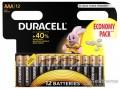 DURACELL Basic alkáli AAA ceruzaelem 12 db