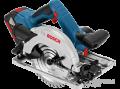 Bosch Professional GKS 18 V-57 G akkus kézi körfűrész 2x5Ah akkuval, L-Boxx+ extra körfűrészlap