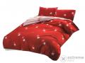 Zamur Ágyneműhuzat garnitúra 7 részes csillagos, piros