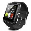 AlphaOne Smart Watch U80 magyar nyelvű okosóra fekete