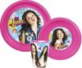 Soy Luna Disney műanyag étkészlet szett yes
