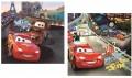 Verdák Disney párnahuzat város 40x40cm