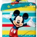 Mickey Disney ágyneműhuzat 140x200cm, 70x90cm