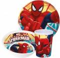 Pókember , Spiderman étkészlet, melamin szett