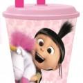 Minions , Minion unikorn szívószálas pohár