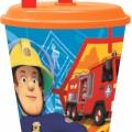 Sam a tűzoltó , Fireman Sam szívószálas pohár