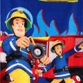Sam a tűzoltó törölköző fürdőlepedő kék