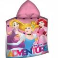 Hercegnők Disney poncso törölköző adventure