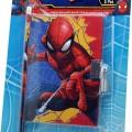 Pókember napló és ceruza spider