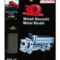 Tronico fém építő játék 3D Lézer Metal Dömper 30311