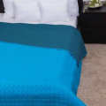 LAURA türkiz ágytakaró 235x250 cm