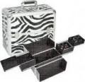 SIBEL NAILS & MORE ZEBRA CASE kozmetikai,körmös táska