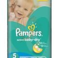PAMPERS Active Baby -Dry pelenka junior 64-db-os 5