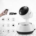 Wifis beltéri Robot kamera, hangszóróval és mikrofonnal éjjellátó funkcióval