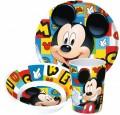 Mickey Disney melamin étkészlet szett