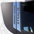 TruckerShop IVECO Stralis inox ajtódísz párban