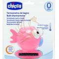 CHICCO Halacska vízhőmérő 32-38°C - rózsaszín
