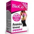 BioCo Ananász kivonat papayával MEGAPACK, 100 db