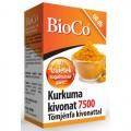 BioCo 7500mg Kurkuma kivonatot tartalmazó kapszula tömjénfa kivonattal, 60 db