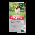 Advantix rácsepegtető oldat 4 kg alatti kutyának 4x