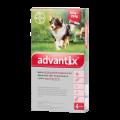 Advantix rácsepegtető oldat 10-25 kg közötti kutyának 4x