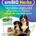EmTech emBIO Táplálékkiegészítő kutyák és macskák részére, 250 ml