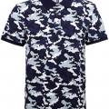 Asquith & Fox Férfi galléros terepmintás póló - Camouflage- Pique