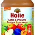Holle bio bébiétel, alma szilvával 190 g
