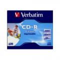 Verbatim CD-R 700MB 52x Írható CD lemez (43325)