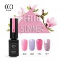 Nailgel Summer collection 1, 4 db-os CCO minőségi gél lakk szett