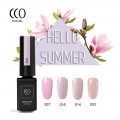 Nailgel Summer collection 3, 4 db-os CCO minőségi gél lakk szett