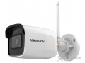 Hikvision (DS-2CD2021G1-IDW1) IP kültéri csőkamera (2MP, 2,8mm, H265+, IP66, IR30m, ICR, DWDR, SD, audio, wifi)