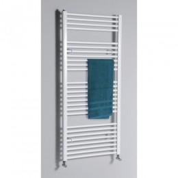 Aqualine egyenes fehér fürdőszobai radiátor 970x600 mm ILR96