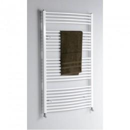 Aqualine íves fehér fürdőszobai radiátor 1330x600 mm ILO36