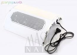 Elszívós kéztámasz NEW 3 ventillátoros / fehér