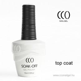 CCO Fényzselé CCO Top Coat Gél lakk
