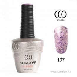 CCO Rózsaszín 107 CCO Gél lakk