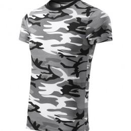 Malfini Férfi terepmintás póló - Camouflage