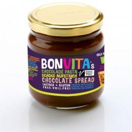 Bonvita bio csokikrém tejmentes, 200 g