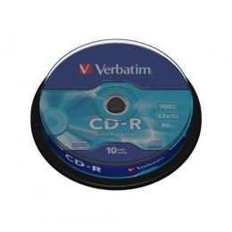Verbatim CD-R 700MB 52x Írható CD lemez (25db) (43432)