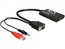 Delock Adapter HDMI > VGA + Audio (62407)