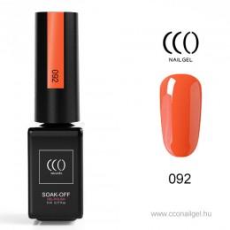 CCO Áttetsző narancs 092 CCO Gél lakk 5ml